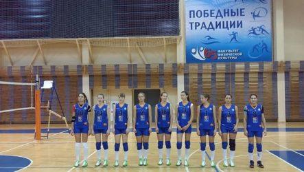 Победа в полуфинале Кубка Студенческой волейбольной лиги России