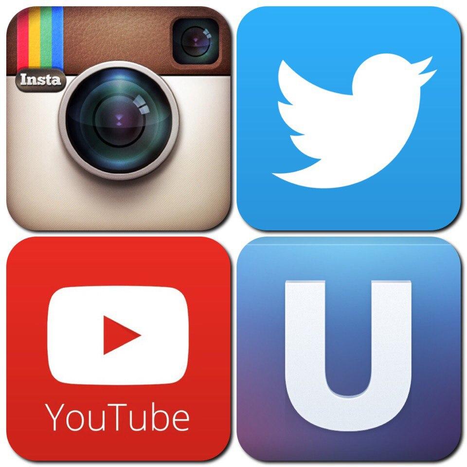 Социальные сети и ссылки