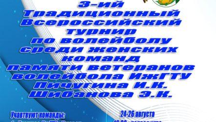 Итоги турнира памяти ветеранов волейбола ИжГТУ