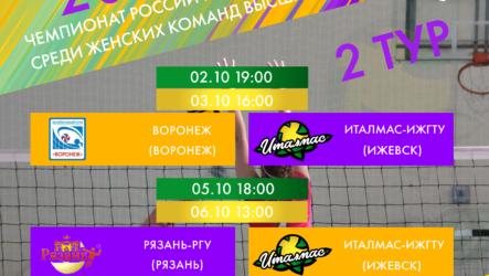 2-й тур Чемпионата России Высшая лига «Б»
