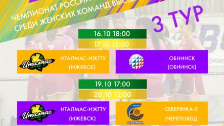 3-й тур Чемпионата России Высшая лига «Б»